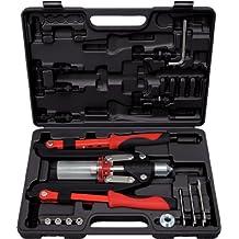 KS Tools 150.9630 - Pack de 11 piezas con tenazas para remaches universales, en maletín de plástico