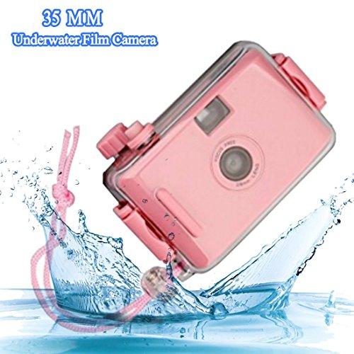 A-szcxtop 35mm Unterwasser Film Kamera mit Color Box Sicherheit für Kind zu verwendet für Unterwasser und Land
