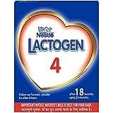 Nestle LACTOGEN 4 Follow-Up Formula Powder - After 18 months upto 24 months, Stage 4, 400g BIB Pack