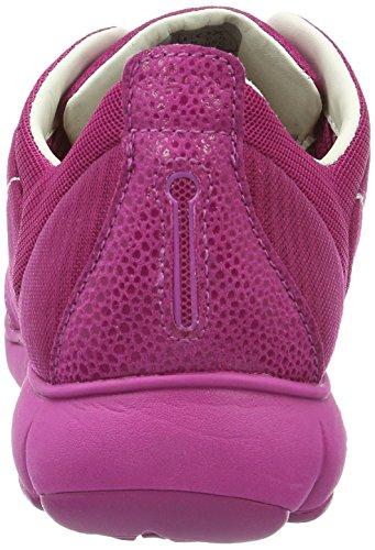 Geox Damen D Nebula G Sneakers Rosa (ciclamenc8335)