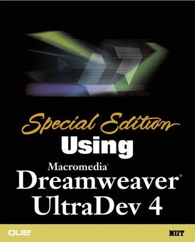 Special Edition Using Macromedia Dreamweaver Ultradev 4