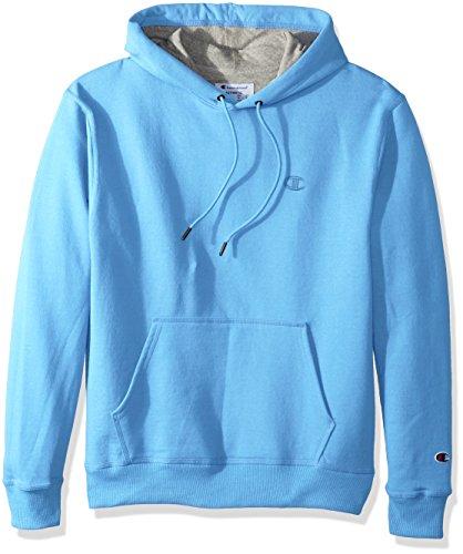 Fleece-active Shorts (Champion Men's Powerblend® Fleece Pullover Hoodie S Blue)