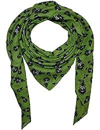 Superfreak® Baumwolltuch mit Freak Butik Logo-Figur ° Tuch ° Schal ° 100x100 cm ° 100% Baumwolle ° alle Farben!!!