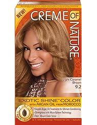 colorant capillaire exotic shine lhuile dargan pour une couleur chaude et clatante chtain caramel clair - Coloration Chatain Caramel