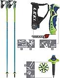 LEKI Green Bird Alu S Skistock, 125 cm