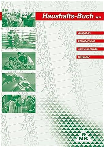 RNK 3131 Haushaltsbuch für 1 Jahr (Haushaltsbudget Bücher)