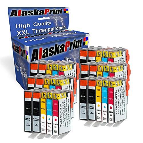 Alaskaprint 30x Druckerpatronen kompatibel für HP 364XL HP 364 XL mit HP Photosmart 5510 5511 5512 5514 5515 5520 5522 5524 6510 6520 6512 6515 7510 7520 7515 B8550 (Photosmart 5512 Hp)