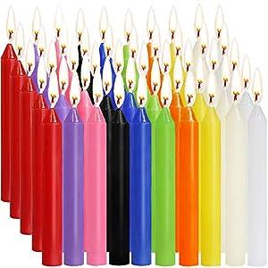 SaiXuan Velas 100 Colores Surtidos