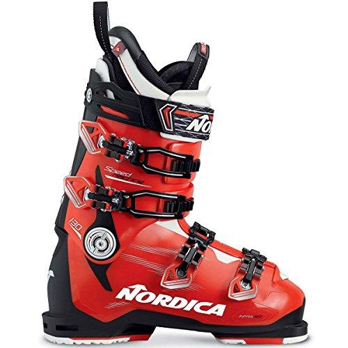 Nordica Herren 050H14-N44 Skischuh Speedmachine 130 Schwarz/Rot/Weiß - MP 26,0