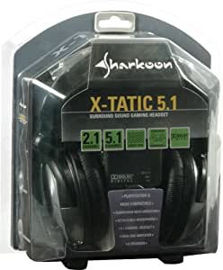 Sharkoon X-Tatic 5.1 2nd Revision Dolby® Digital Certified Headphones