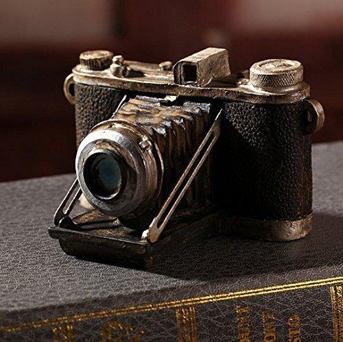 UChic 1 STÜCKE Harz Vintage Kamera Europäischen stil Handarbeit Dekoration Nachahmung Möbel Miniaturen Vintage Harz Kamera Ornamente -