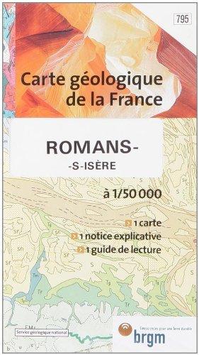 Carte géologique : Romans par Cartes BRGM