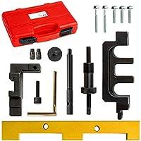 TecTake Kit de herramientas de ajuste reglaje motor sincronización árbol leva N42 N46 ...