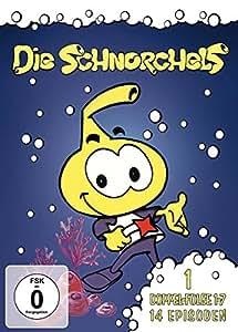 Die Schnorchels 1 - Doppel-Folge 1-7, 14 Episoden (Fernsehjuwelen)