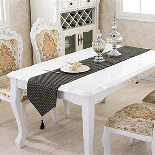 Haosen 33x210cm caminos de mesa modernos patr n de for Caminos de mesa modernos