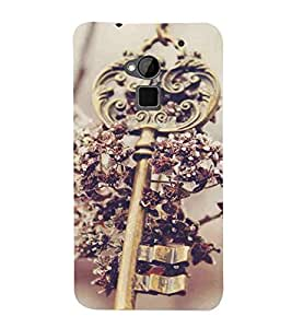 For HTC One Max :: HTC One Max Dual SIM key Printed Cell Phone Cases, queen Mobile Phone Cases ( Cell Phone Accessories ), lock Designer Art Pouch Pouches Covers, pendant Customized Cases & Covers, throne Smart Phone Covers , Phone Back Case Covers By Cover Dunia