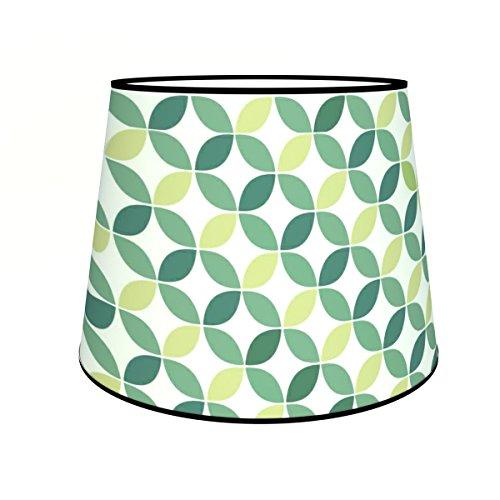 Abat-jours 7111303951616 Conique Fred Lampadaire, Tissus/PVC, Multicolore