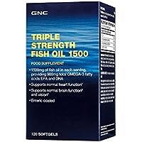 Gnc Aceite de pescado de triple concentración 1500