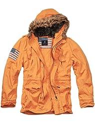 Brandit Vintage Explorer Stars + Stripes, Chaqueta Para Hombre