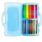 36 couleurs crayons de cire ensemble, Plastidecor en plastique effaçable non toxique colorant des crayons pour enfants tout-petits adultes peinture enfants école bureau fournitures d'art