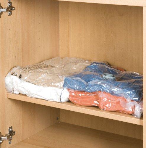 Wenko Vakuumbeutel | 2er Set | Platzsparend - Schützt die Kleidung