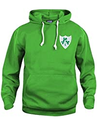 per San Patrizio Felpa con cappuccio per bambini prodotta in Irlanda 4-5 anni