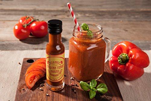 51A7bXdZjGL - Mexican Tears® - Red Habanero Sauce, scharfe Sauce aus Chili & Meersalz, perfekt als Grill-Zubehör für BBQ Sauce, Pulled Pork & zum Aufpeppen von Pizza & Pasta [100ml Chilisauce]