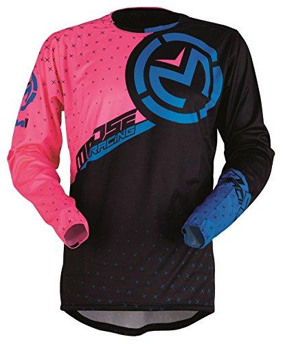 Elch Racing 2018M1Pink/Schwarz/Blau MX Motocross Jersey (Entfernt Jersey S/s)