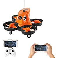 Furibee Mini Drone with Camera, H801 WIFI FPV Drone Mini RC Quaccopter with 720P Camera, One Key Return, Easy To Fly RC Helicopter for Beginners, Kids