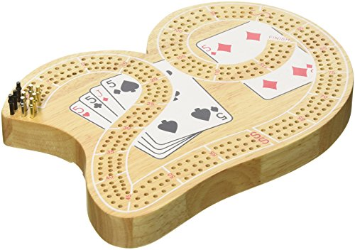 3 Track 29 Cribbage with Playing Cards by Classic Game Collection