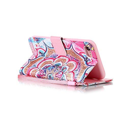 Eine Vielzahl von Farben XFAY HX-455 iPhone 7plus Handyhülle Case für iPhone 7plus Hülle im Bookstyle, PU Leder Flip Wallet Case Cover Schutzhülle für Apple iPhone 7plus-2 Farbe-6