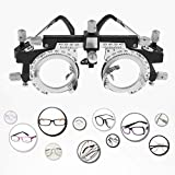 FHJZXDGHNXFGH-UK Adjustable Professional Eyewear Optometry Frame Optician Trial Lens Frame