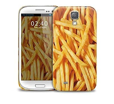 """Chips frites avec ce Samsung Galaxy S4 GS4 plastique protection pour tŽlŽphone couvercle du bo""""tier"""