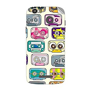 Garmor Designer Mobile Skin Sticker For Lava Iris X5 4G - Mobile Sticker