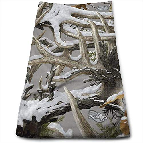 Tyueu Handtuch Gesicht Handtücher Realtree Camo Wallpapers 100% Cotton, Fade Resistant, Highly Absorbent, Machine Washable, Hotel Quality, Soft Absorbent Towel -