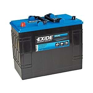 Exide ER350Dual Leisure batteria 80Ah (porta Power PP75)