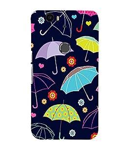 FIOBS dry clothes protection rain umberella Designer Back Case Cover for Huawei Nexus 6P :: Huawei Google Nexus 6P