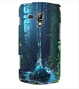 ColourCraft Beautiful Forest Design Back Case Cover for SAMSUNG GALAXY S DUOS 2 S7582