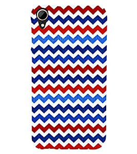 Wave Pattern Wallpaper 3D Hard Polycarbonate Designer Back Case Cover for HTC Desire 828 :: HTC Desire 828Q :: HTC Desire 828S :: HTC Desire 828G+ :: HTC Desire 828 G Plus :: HTC Desire 828 Dual Sim