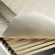 Carese Protector de somier | Protector de colchón Puntos 90 x 210 cm - 90 x