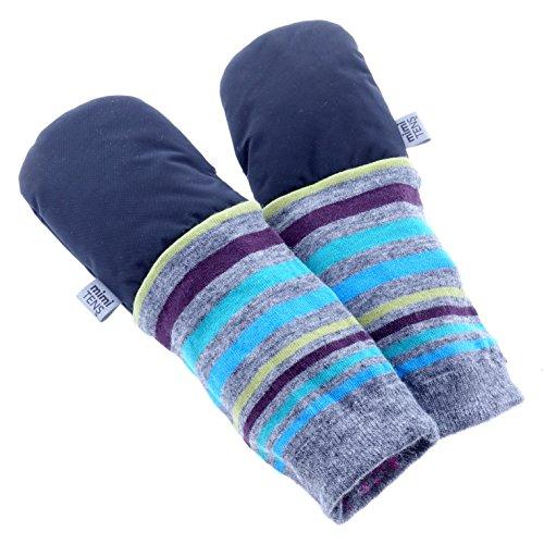 Kinder Ellenbogen Handschuhe (MimiTens MT-680187140241 Klassische Langärmelige Warme Winterhandschuhe, Größe 2-3,)