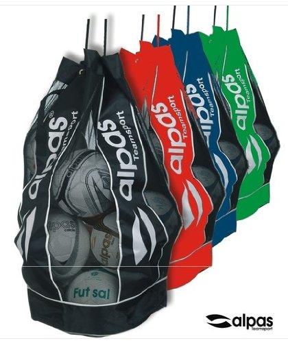 Ballsack / Balltasche von alpas für 10-12 Bälle *NEU* 4 Farben lieferbar (Grün)