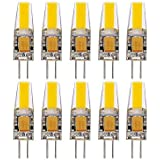 6W G4 Luces LED de Doble Pin T 1 COB 400-500 lm Blanco Cálido / Blanco Fresco / Blanco Natural Decorativa / ImpermeableAC 12 / AC 24 / DC , dc12v