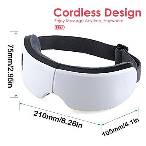 Zoom IMG-1 jiuhuazi pieghevole ricaricabile eye massager