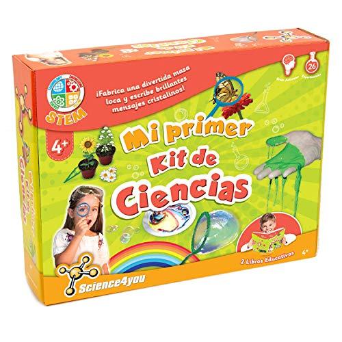 Science4you-Mi Primer Kit de Ciencias-Juguete Cientifico para Niños +4 Años, (600270)
