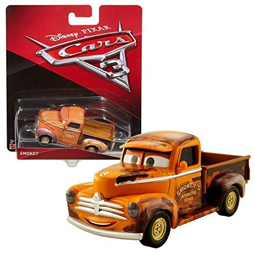 Disney Cars 3 Cast 1:55 - Auto Fahrzeuge Modelle zur Auswahl, Typ:Smokey