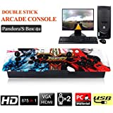 Game Host Family 875 Classic Games Home Tv Monitor Arcade Game Console Controller Kit, Multi-Color Mixed