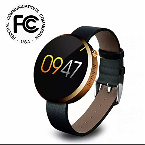 Fitness Armband Fitness Tracker Bracelet,Intelligente uhr,LED Dimmbarer Projektion Dual-Wecker Sport Watch für Smartphones mit Android iOS System/Samsung/Sony/LG/Huawei