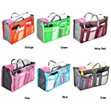 Outdoortips Handbag Pouch Bag in Bag Organiser Insert Organizer Tidy Travel Cosmetic Pocket Six colors