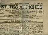 Telecharger Livres Petites Affiches de la Gironde Journal special d annonces judiciaires N 3753 44eme annee (PDF,EPUB,MOBI) gratuits en Francaise
